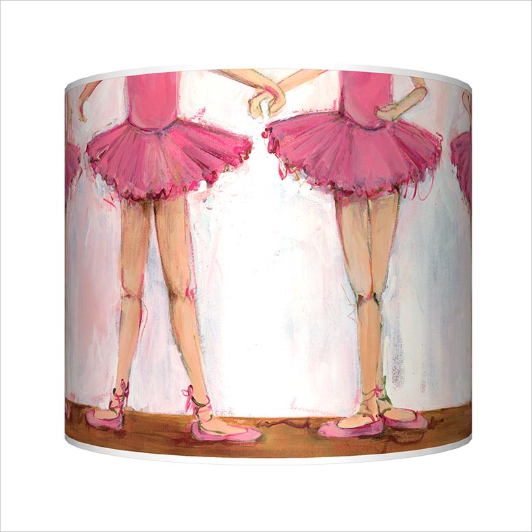 Ballet Positions Lamp by Kristina Bass Bailey