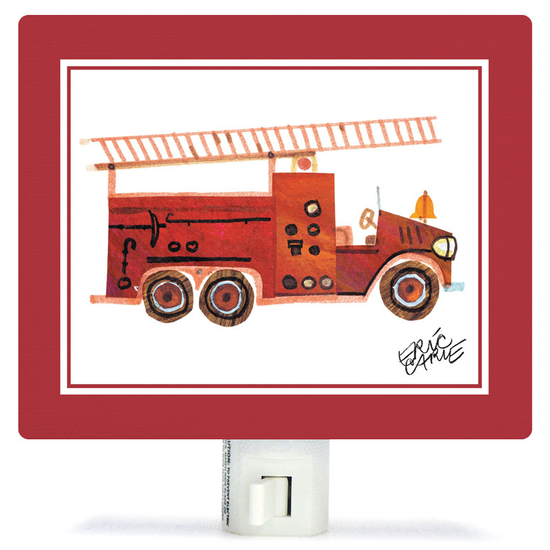 Eric Carle's Fire Engine Night Lights by Eric Carle